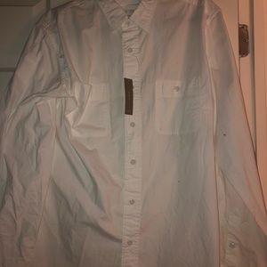 White J. Crew Button Down